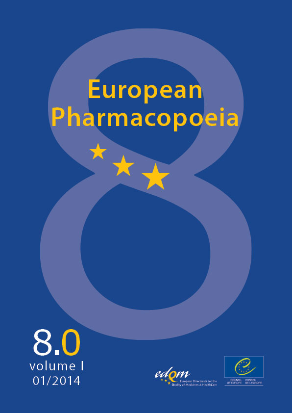 8th edition european pharmacopoeia